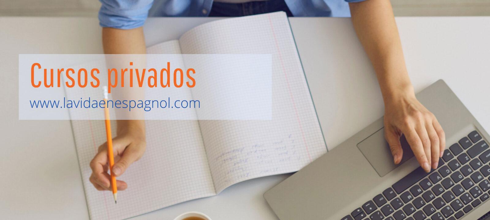 Cursos privados español en línea